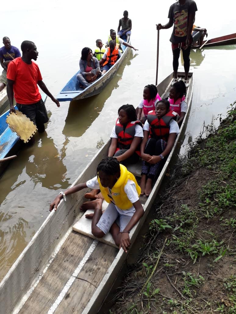 Le 18 juin 2019, les élèves de CM2 ont passé la journée à Bini lagune