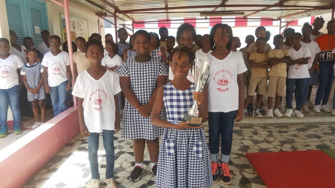 Concours de dictée /  L'école remporte la deuxième place grâce à l'élève Ouattara Doma Mariella en classe de CM2A